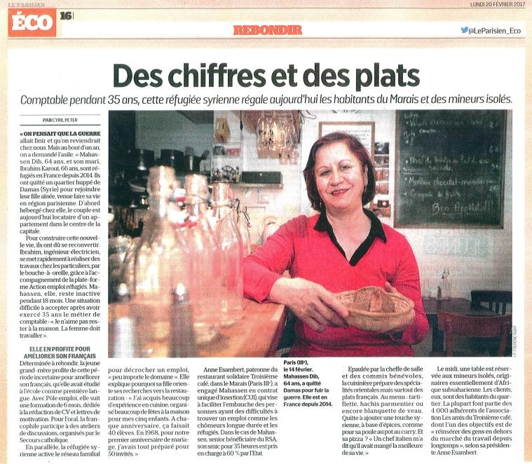 Article Le Parisien du 20-02-2017 V2
